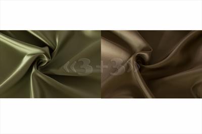 Портьерная ткань сатин двусторонний