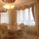 Квартира-дворец в классическом стиле с ламбрекенами