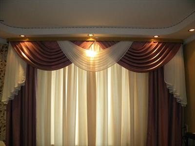 Полное оформление квартиры шторами